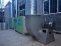 喷淋塔环保箱UV箱风机全套设备18605449788